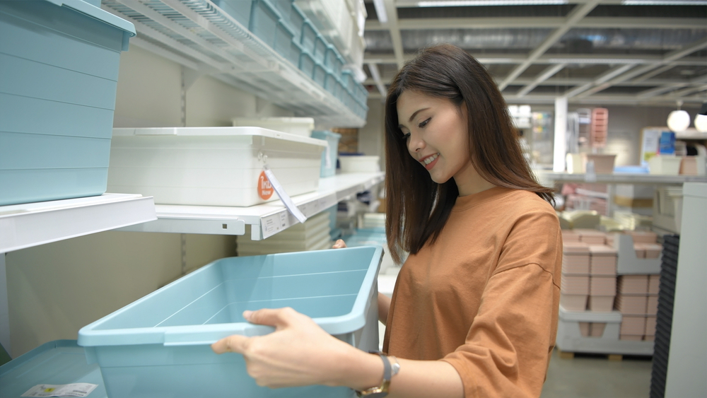 Choose the Correct Container to prevent mold and mildew in storage units