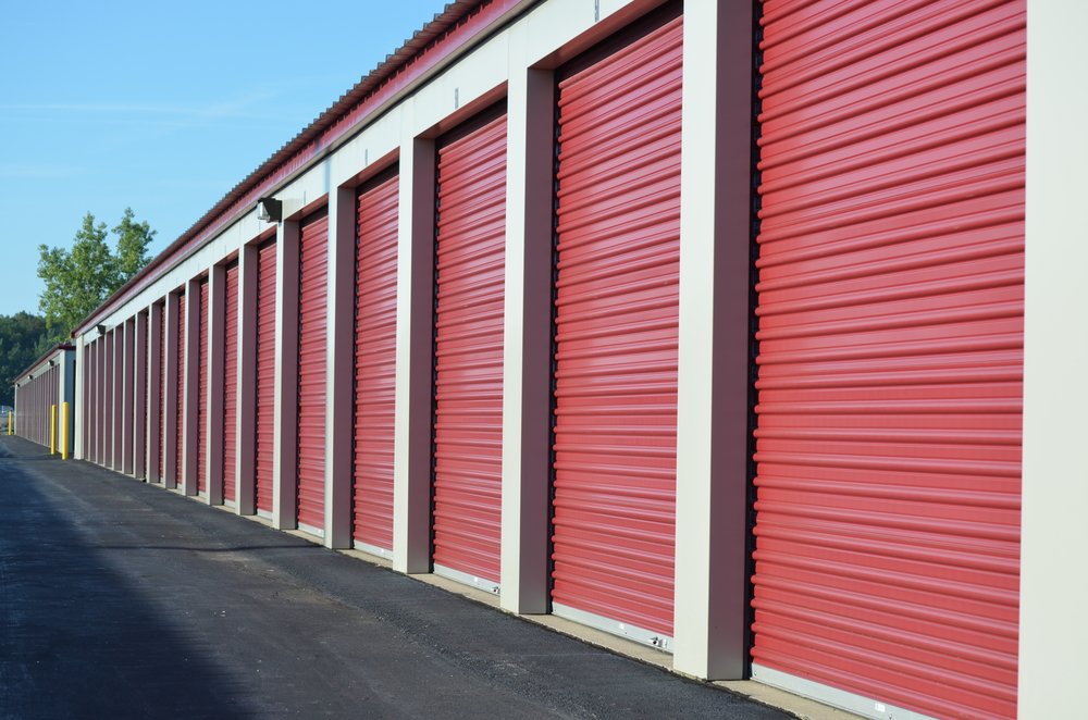 photo of storage units sizes managed by a self storage manager