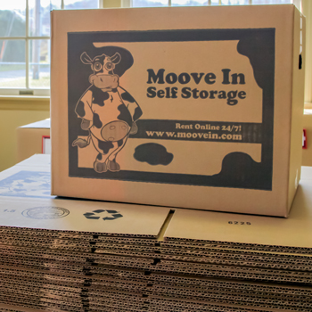 moving supplies and storing supplies for sale